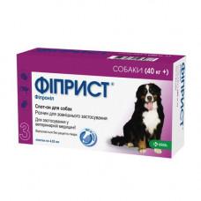 Фиприст Спот Он - Капли от блох, клещей и власоедов, для собак свыше 40 кг (1пипетка)1