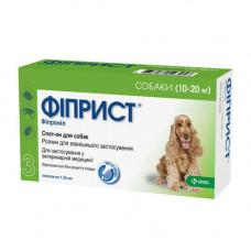 Фиприст Спот Он - Капли от блох, клещей и власоедов, для собак 10-20 кг (1пипетка)(KRKA)1