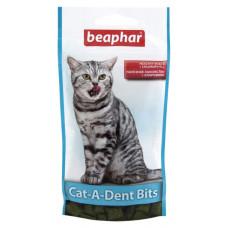 Beaphar Cat-A-Dent Bits 35г- подушечки для чистки зубов кошек (11406)1