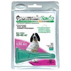 Merial Фронтлайн Комбо L капли для собак от 20 до 40 кг 1пипетка1