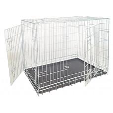 Croci Клетка для собак складная, 2 входа, цинк 64х48х54см (C2D00050)1