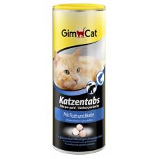 Gimpet Katzentabs витамины для кошек с рыбой и биотином 710шт(409146)1