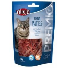 Trixie TX-42734 PREMIO Tuna Bites 50г- лакомство для котов с тунцом и курицей1