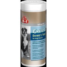 8in1 Excel Brewer's Yeast for large breed-Эксель Пивные дрожжи, для собак крупных пород 80таб1