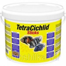 Tetra Cichlid Sticks 10L/2,9кг-Основной корм в виде палочек для всех видов цихлид (153691)1