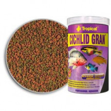 Tropical Cichlid Gran 1л/550г - корм для кормления аквариумных рыб (60456)1