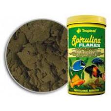 Tropical Spirulina Flakes 1л -корм для растительноядных и всеядных рыб (77136)1