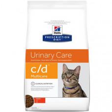 Hills Prescription Diet Feline c/d Urinary Care (кошки) с курицей 1,5кг 1