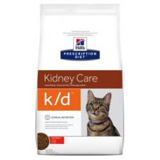Hills Prescription Diet Feline k/d Kidney Care 1,5кг - для кошек почечная недостаточность1