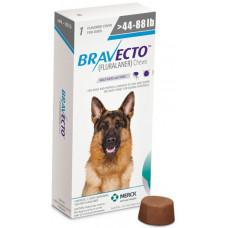 Бравекто Жувальна таблетка для захисту собак від кліщів і бліх 20-40 кг1