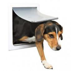Trixie TX-3878 - дверца для кошек и собак средних пород (30 × 36 см),с металлической панелью1