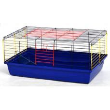 Клетка Кролик-100 для морских свинок и кроликов (краска) 1000х540х460мм1
