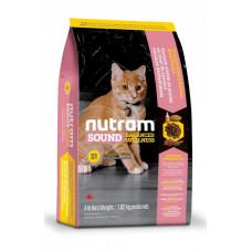 S1 Nutram Sound Balanced Wellness Kitten 1,13 кг - корм для котят1