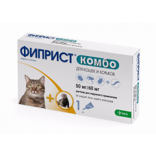 Фиприст Комбо капли для кошек (1 пипетка )1