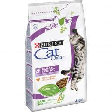 Cat Chow Special Care Hairball Control 1,5кг- корм для выведения шерсти у кошек1