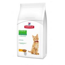 Hills Science Plan Kitten Healthy Development корм для котят с курицей 2кг1