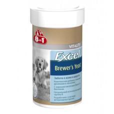 8in1 Excel Brewer's Yeast Пивные дрожжи для собак и кошек 140таб1
