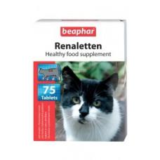 Beaphar Renaletten 75 таблеток -витаминизированные лакомства для кошек с проблемами почек (10660)1