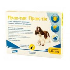Prac-tic капли для собак весом от 11 до 22 кг (1пипетка) 09,191