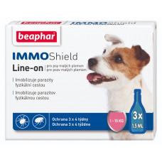 Beaphar IMMO Shield для собак малих порід від 1 до 15 кг - протипаразитарні краплі з силіконів маслом (13354)1