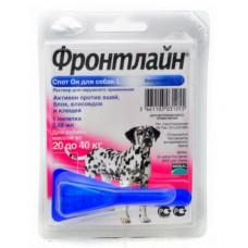 Merial FrontLine Spot On L- капли для собак от 20 до 40 кг 1пипетка1