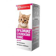 Празицид суспензия Плюс для котят 5 мл1